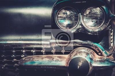 Estilo de la barra Ret salpicadero coche americano