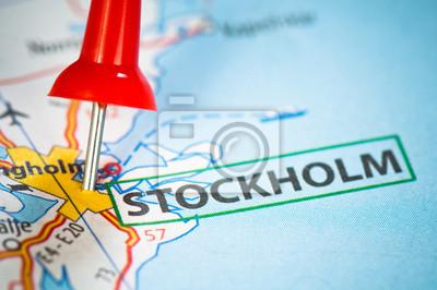 Estocolmo en un mapa