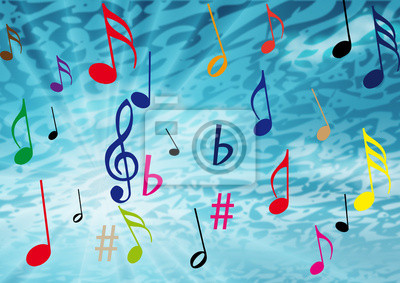 Et de Fond señala de musique