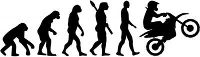 Evolución del motocrós