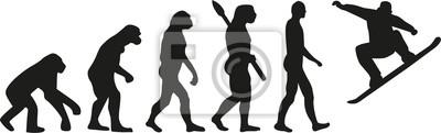 Evolución del snowboard