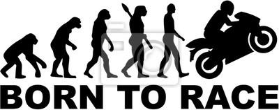 Evolución moto. Nacido para correr.