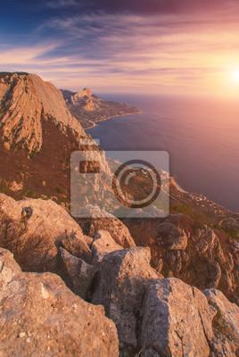 Exótica Bahía del Mar Negro de Crimea