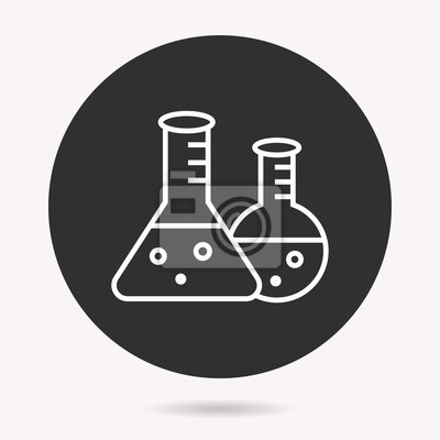 Factory - vector icon. Illustration isolated. Simple pictogram.