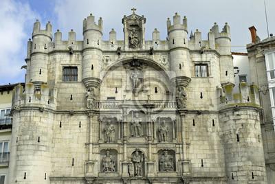 Fassade des Arco de Santa María