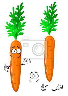 Feliz De Naranja De Dibujos Animados De Zanahoria De Verduras Carteles Para La Pared Posters Alimento Pulgar Ensalada Myloview Es Junto a la fuente de vitaminas de las verduras, la proteína del huevo nos da el aporte de energía perfecto para acabar la jornada laboral. feliz de naranja de dibujos animados de zanahoria de verduras posters myloview