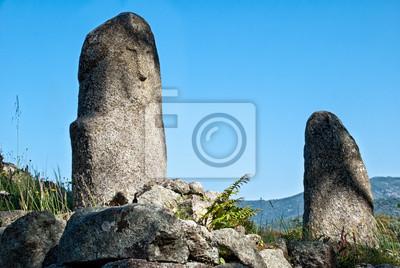 Filitosa, antiguo sitio arqueológico en Córcega