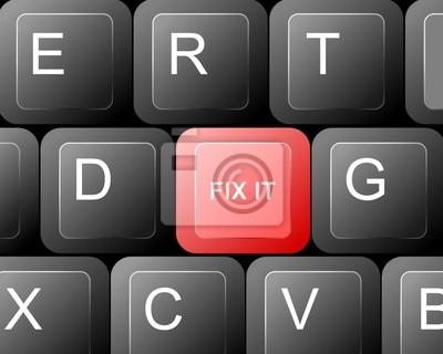 Fix It botón rojo