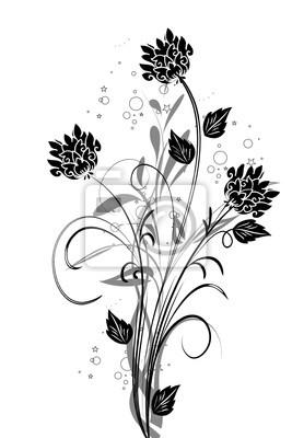 Póster floral