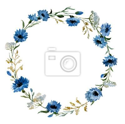 Flores de color azul 12