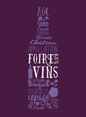 Póster Foire aux Vins