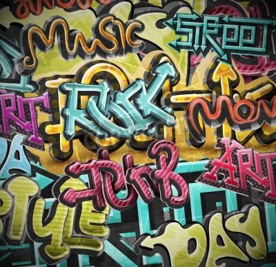 Póster Fondo de la pintada del grunge, eps 10