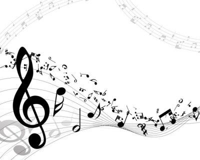 Póster Fondo musical