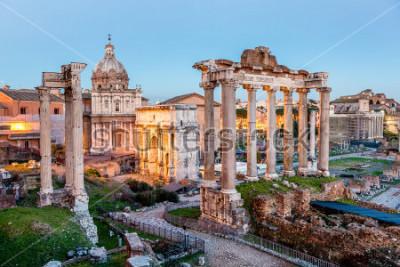 Póster Foro romano en roma