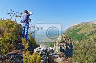 Fotógrafo en Blyde River Canyon, viajar en Sudáfrica