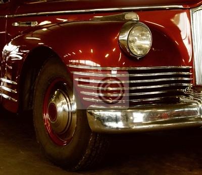 Fragmento de auto antiguo