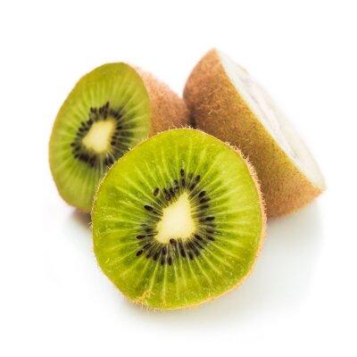 Póster Fresco kiwi verde aislado