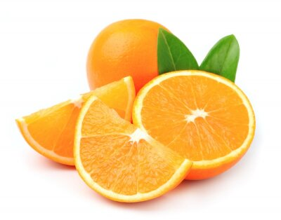 Póster Fruta de naranja dulce