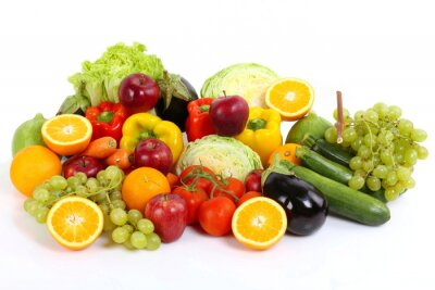 Póster Frutta e verduras