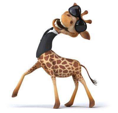 Póster Fun giraffe