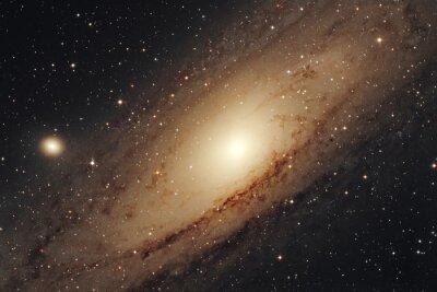 Póster Galassia di  Andromeda  M31