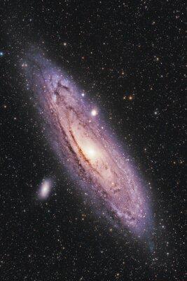 Póster Galaxia de Andrómeda