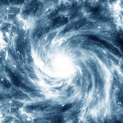 Póster Galaxia espiral