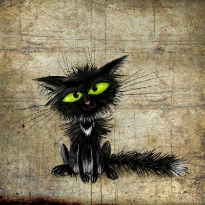 Póster Gato negro