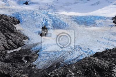 Glacier. Parque Nacional Torres del Paine.