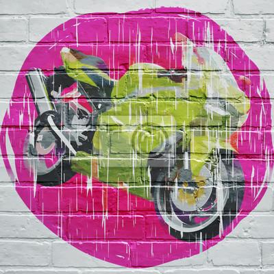 Graffiti, moto grunge