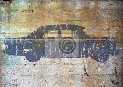 Graffiti, voiture