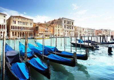 Póster Gran Canal, Venecia, Italia