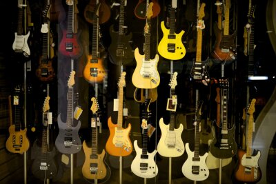 Póster Guitarras eléctricas