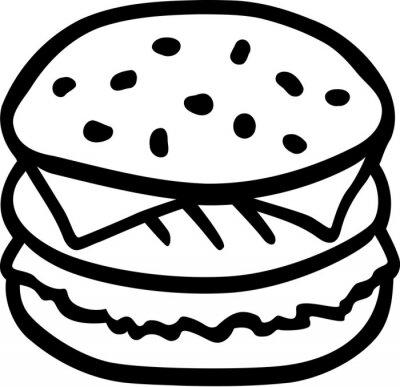 Hamburguesa Hamburguesa con queso