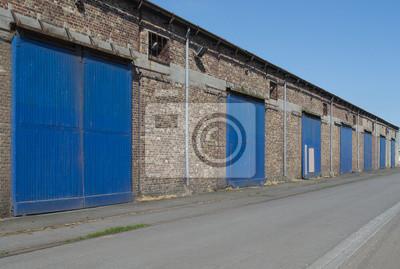 Hangares Vieux sur le port de Dieppe