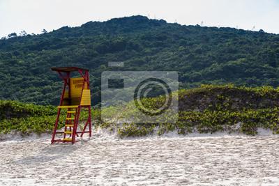 Hermosa playa al sur de Brasil, Praia Mole, Florianópolis