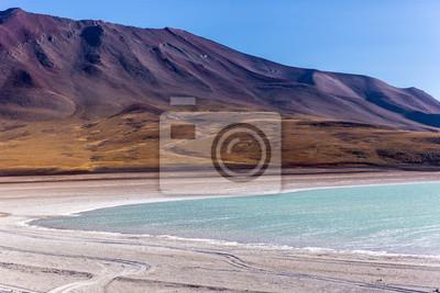 Hermoso lago en Bolivia, Sudamérica