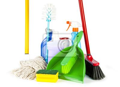 Herramientas de la limpieza