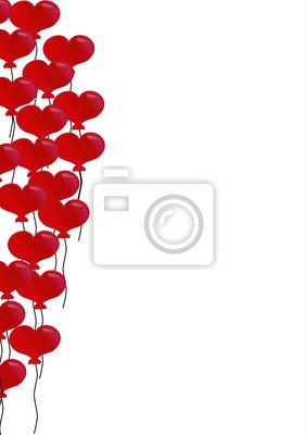 Herzluftballons de fondo
