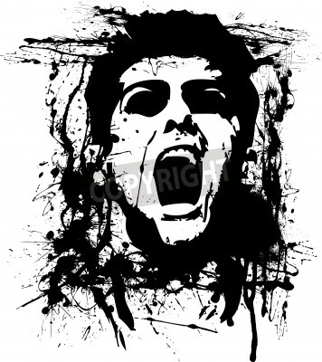 Póster horror zombie