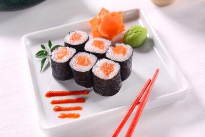 Póster Hossomaki Sushi