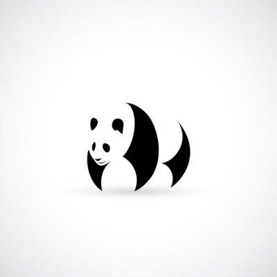 Póster Icono de Panda