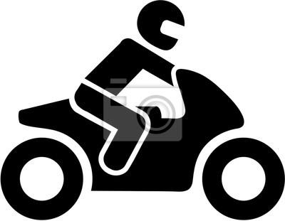 Icono del conductor de la moto