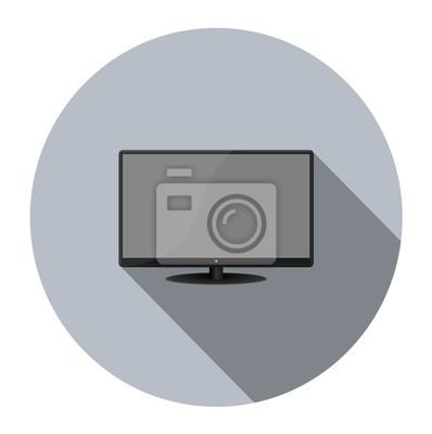 Icono del monitor LCD tv