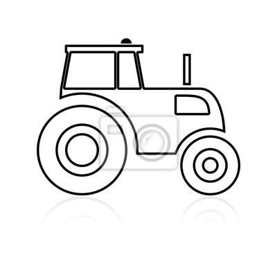 Icono del tractor