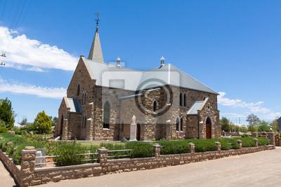 Iglesia de arenisca en Williston, Sudáfrica