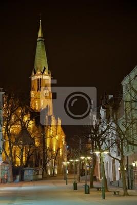 Iglesia en Sopot, Polonia.