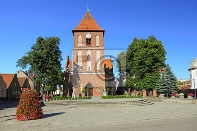 Iglesia en Tolkmicko, Polonia