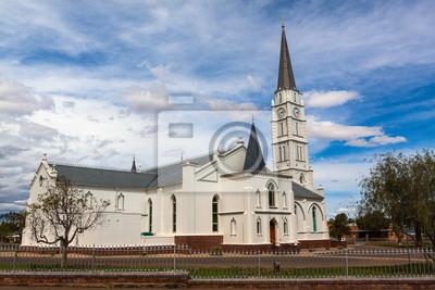 Iglesia Holandesa Reformada en Aberdeen con el campanario más alto en Sudáfrica