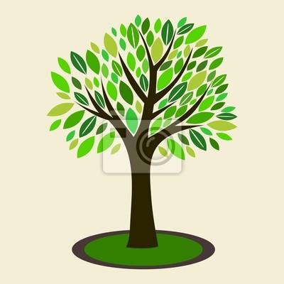 Ilustración del vector del árbol